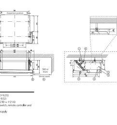 daikin slim ducted air conditioning unit inverter heat pump fdxs35f 3 5kw 12000btu a 240v [ 1208 x 757 Pixel ]